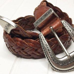 Vintage Levi's   🤠 Braided Leather Belt